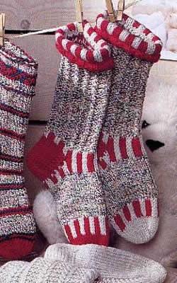 вязаные носки по схеме от посетителей сайтов.